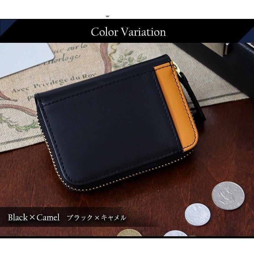 ミニ財布 小銭入れ キャッシュレス財布 コインケース メンズ 大容量 コンパクト 高級 男性用 紳士財布 カードが入る 革 小型 30代 40代 78391-50|wide02|11