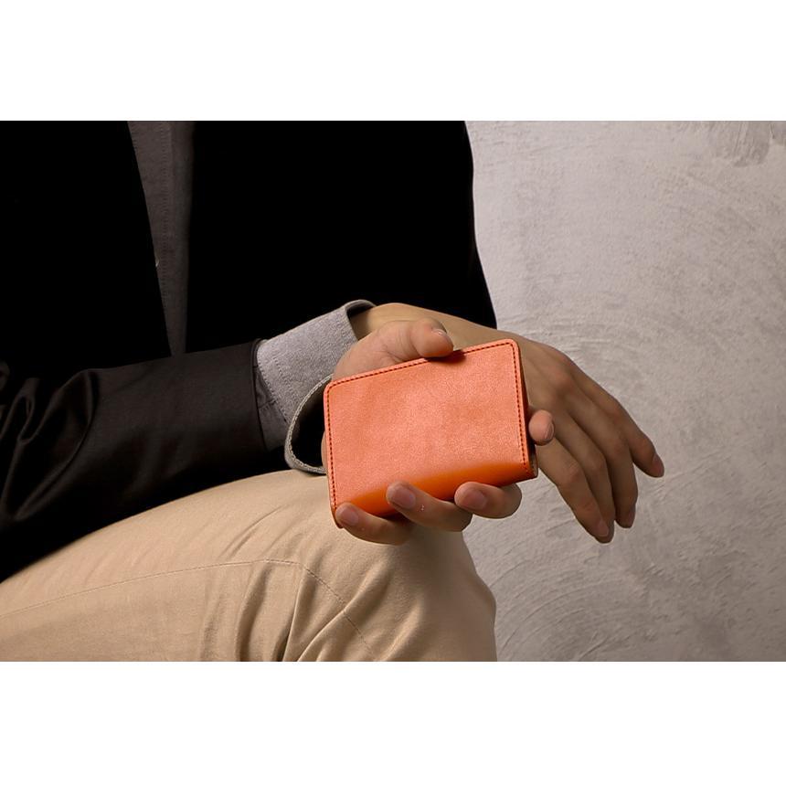 栃木レザー 名刺入れ 革 カードケース 名刺ケース 定期入れ メンズ レディース 薄い 薄型 日本製 国産 ヌメ革|wide02|17