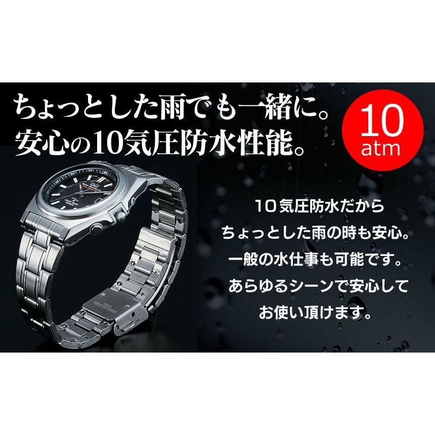 腕時計 メンズ 電波ソーラー シチズン 薄型 アナログ 見やすい 男性用 紳士用 軽量 メタルバンド 日付 電波時計 電波ソーラー腕時計 62419|wide|05