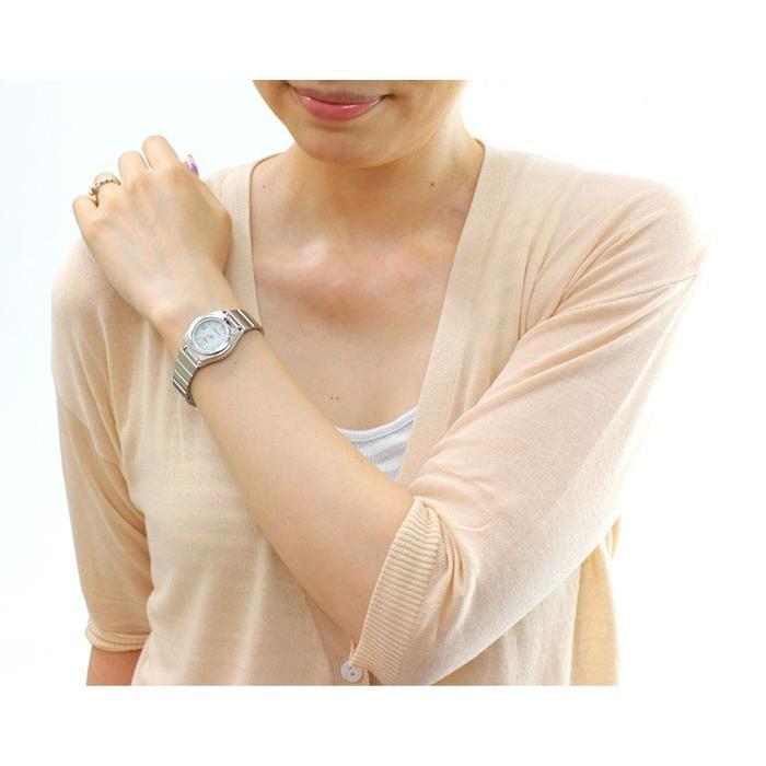 腕時計 レディース 電波ソーラー 薄型 アナログ 見やすい おしゃれ 女性用 婦人用 カシオ腕時計 薄い 軽い 細い 電波時計 ブランド CASIO 社会人 2021 夏 wide 02