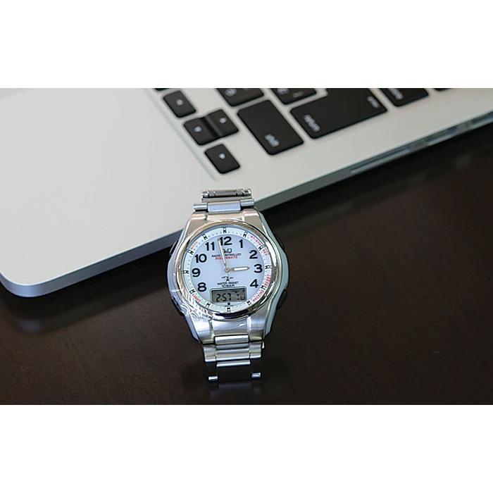 腕時計 メンズ 電波ソーラー シチズン ソーラー電波腕時計 電波時計 5局 海外対応モデル 10気圧防水 アナログ デジタル デジアナ  CITIZEN wide 13