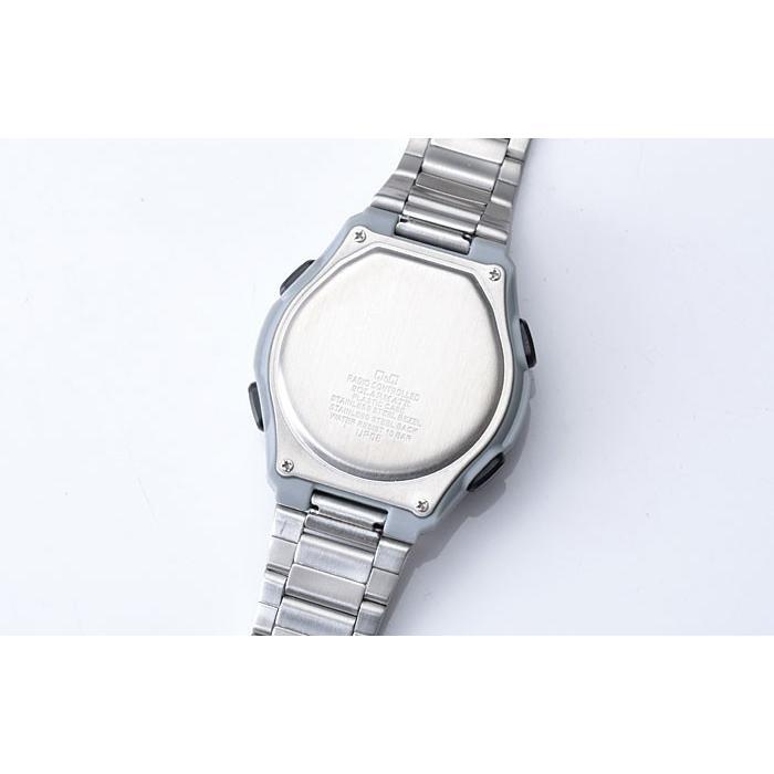 腕時計 メンズ 電波ソーラー シチズン ソーラー電波腕時計 電波時計 5局 海外対応モデル 10気圧防水 アナログ デジタル デジアナ  CITIZEN wide 10