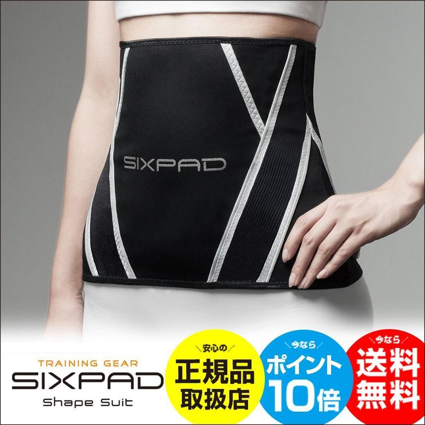 シックスパッド SIXPAD シェイプスーツ shape suit 腹巻き ウエスト お腹 温め 発汗 サウナ ダイエット トレーニング ウェア インナー SP-SS2025F|wide