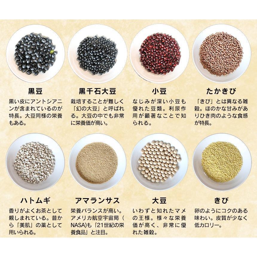 雑穀米 健康食品 食育 16種類 無農薬 国産雑穀100% 20g×9包×2 2パックセット 2個 2箱 岩手県産 THE KOKU お試し レトルト|wide|05