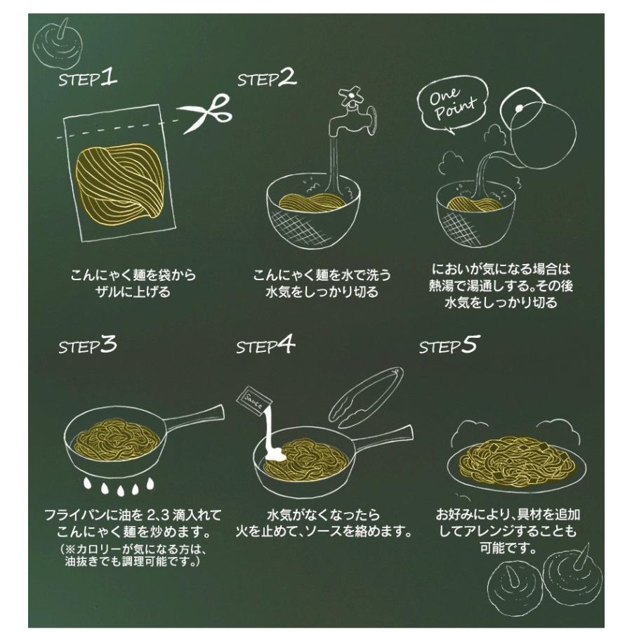 ダイエット食品 こんにゃく麺 焼きそば こんにゃく焼きそば 6食セット 蒟蒻麺 ソース焼きそば 満腹 置き換え 糖質制限ダイエット wide 08
