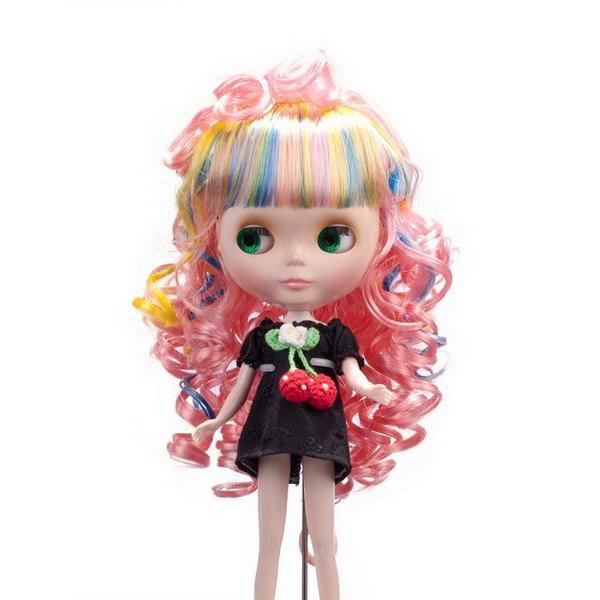 レビューでプレゼント Blytheブライス 人形・ドール用ウィッグ かつら おもちゃ コスチューム B-133