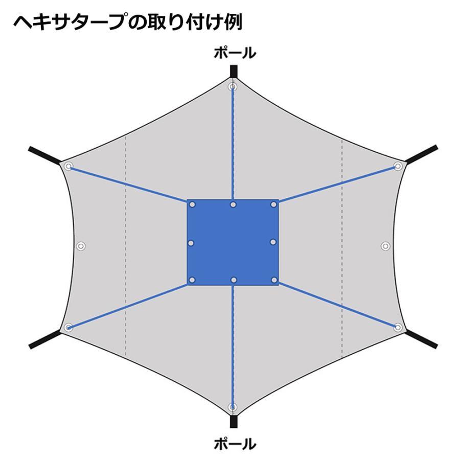テンマクデザイン Takibi-Tarp専用 難燃シート(tent-Mark DESIGNS) wild1 02