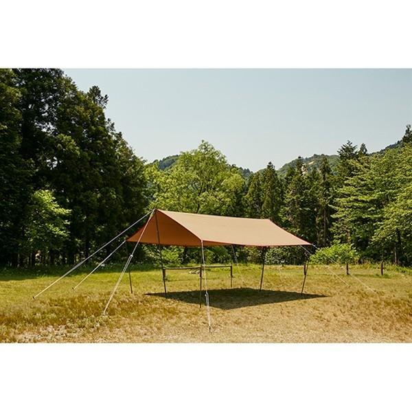 tent-Mark DESIGNS (テンマクデザイン) 焚火タープコットンレクタ【レクタタープ 焚き火】|wild1