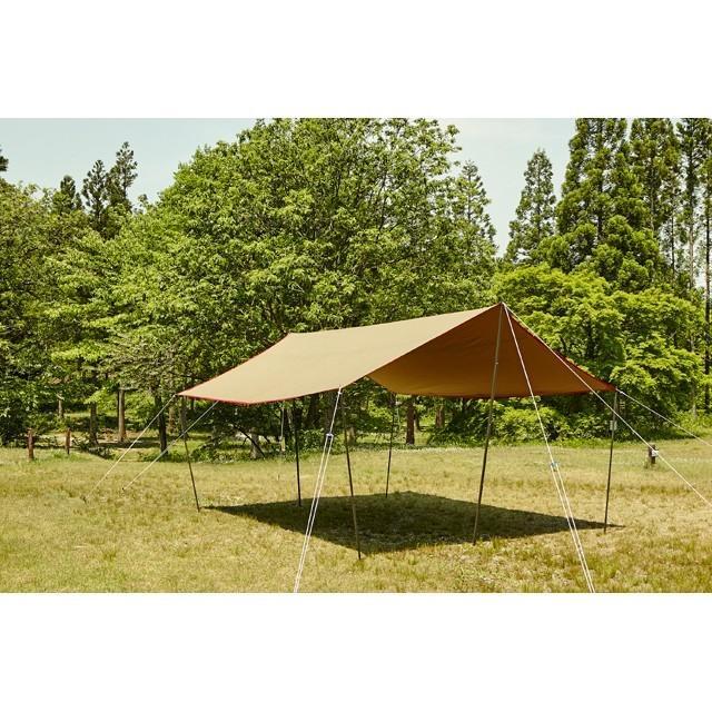 tent-Mark DESIGNS (テンマクデザイン) 焚火タープコットンレクタ【レクタタープ 焚き火】|wild1|02