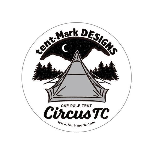 テンマクデザイン 未使用品 ステッカー サーカスTC circusTC <セール&特集>