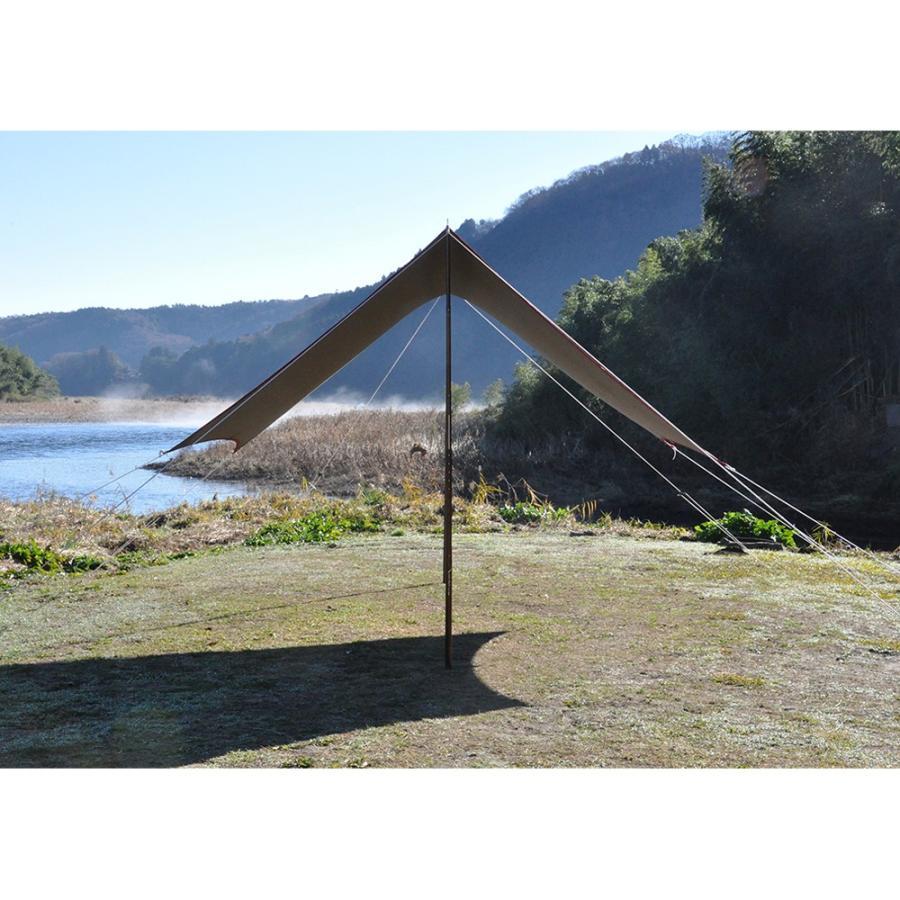 tent-Mark DESIGNS (テンマクデザイン) 焚火タープコットンヘキサ(M)【ヘキサタープ】|wild1|02