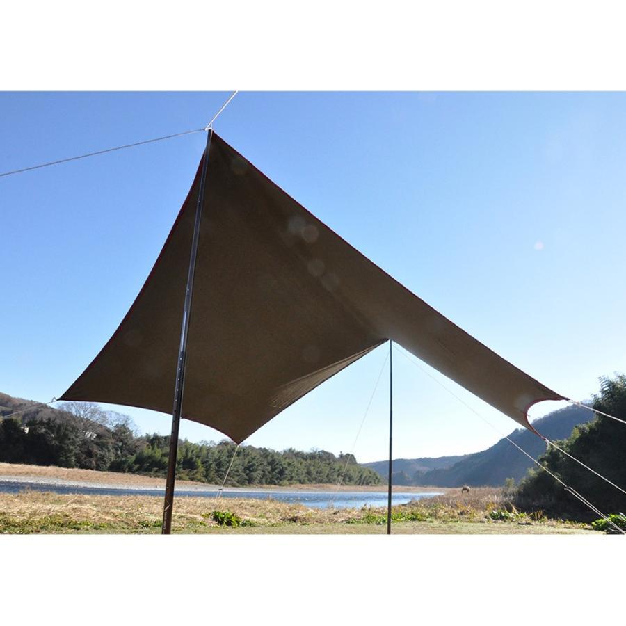 tent-Mark DESIGNS (テンマクデザイン) 焚火タープコットンヘキサ(M)【ヘキサタープ】|wild1|03