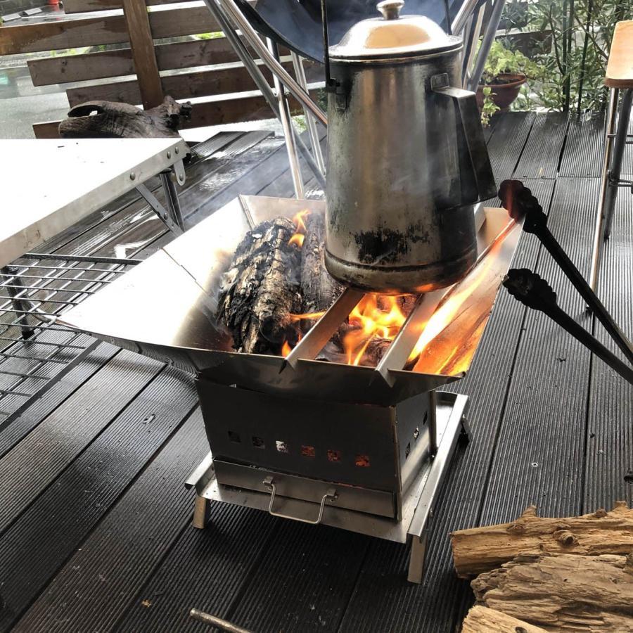 tent-Mark DESIGNS (テンマクデザイン) 焚き火スクエア|wild1|09