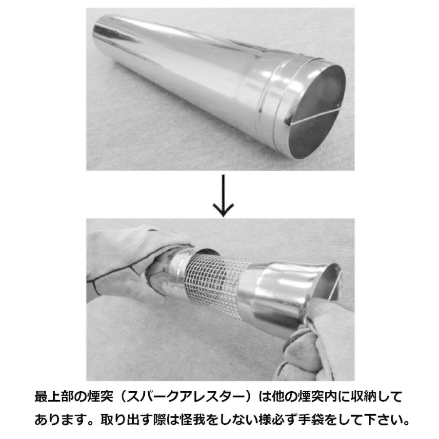 tent-Mark DESIGNS ウッドストーブ【Mサイズ】ケース付き2点セット wild1 09