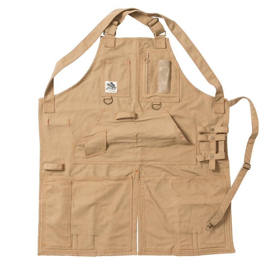 tent-Mark DESIGNS アウトドアクッキングエプロン2【サンド】(テンマクデザイン)|wild1