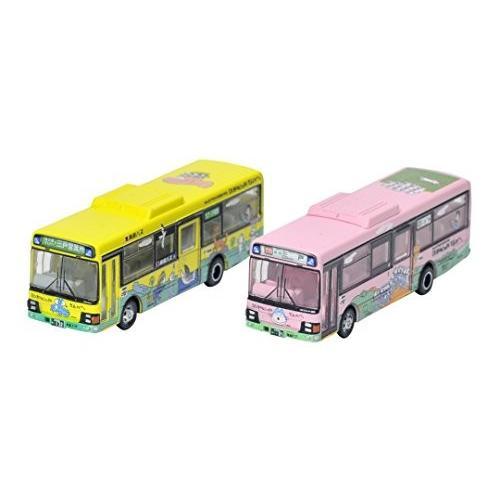 ザ・バスコレクション バスコレ 南部バス11ぴきのねこラッピングバス 2台セット ジオラマ用品 (メーカー初回受注限定生産)
