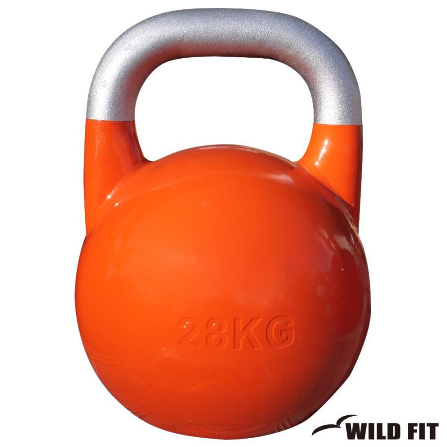 一流の品質 JKA公認ケトルベル 28kg オレンジ [WILD FIT ワイルドフィット] 送料無料 ウエイト トレーニング ダンベル 筋トレ 握力, ストッキングの通販サイトLegStyle d39b2139