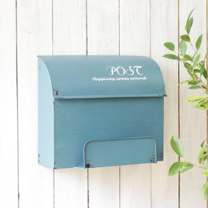ポスト 大人気 郵便受け メールボックス 郵便ポスト おしゃれ 壁掛け 壁付け 置き型 MAIL BOX 玄関 蓋 ◆在庫限り◆ インテリア 雑貨 POST 箱 エントランス