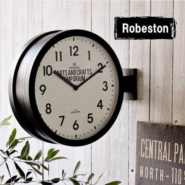 低廉 掛け時計 おしゃれ 両面時計 壁掛け時計 置き時計 入荷予定 ダブルフェイス ツーフェイス スイーブムーブメント シンプル ブルックリン ウォールクロック 男前 インテリア