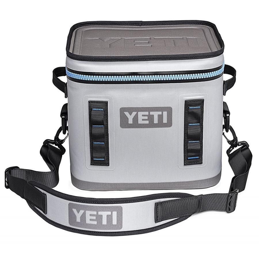 YETI (イエティ) Hopper Flip Portable Cooler 12 Fog Gray/Tahoe Blue [並行輸入品]