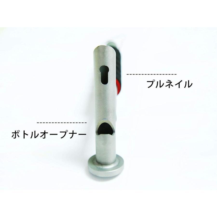 ペグハンマー テントハンマー キャンプハンマー 軽量 3.9オンスDesert Walker 多機能高強度TC4チタン合金ハンマー ,収納袋