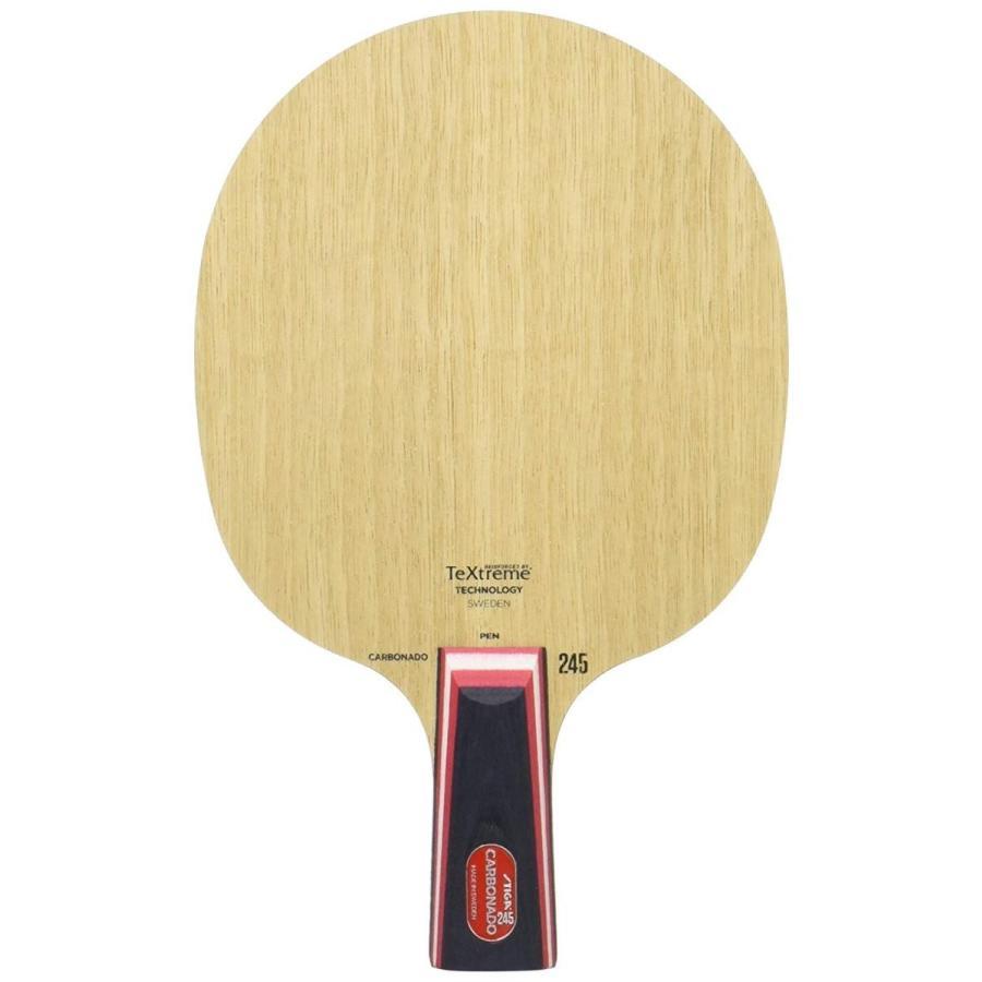 STIGA(スティガ) 卓球 ラケット カーボネード 245 中国式ペングリップ 1063-65