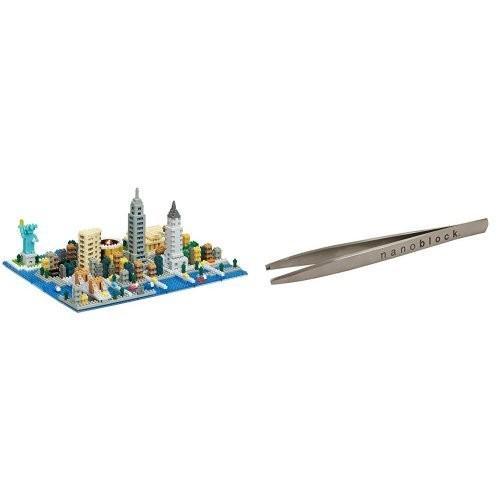 ナノブロック ニューヨーク NB-033 ナノブロック専用ピンセット付き