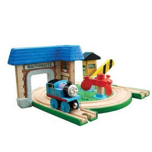 ラーニングカーブ きかんしゃトーマス 木製レール アーリーエンジニアズ ステーションセット 98350