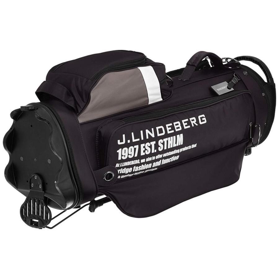 ジェイリンドバーグ スタンドキャディバッグ JL-014S ブラック