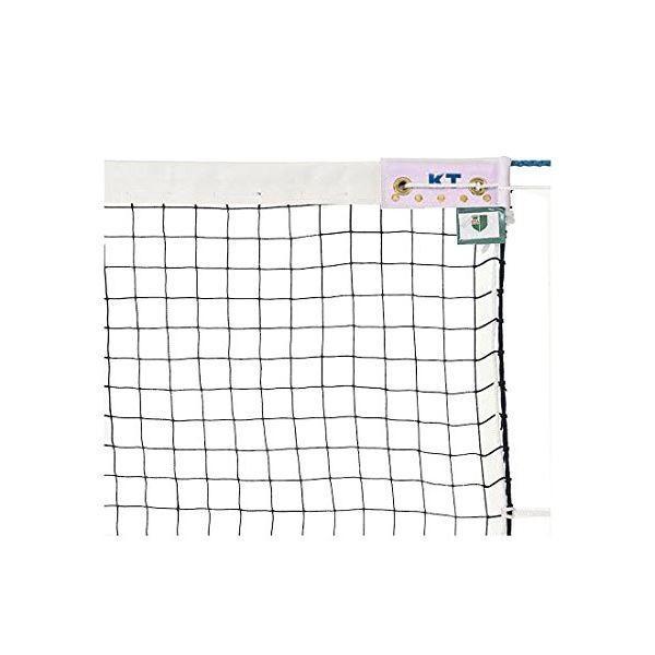 KTネット 正式ソフトテニスネット 日本製 〔サイズ:12.65×1.06m〕 グリーン KT219