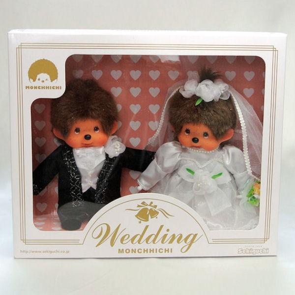 【モンチッチ】 ウェディングドール Monchhichi Wedding (260900)