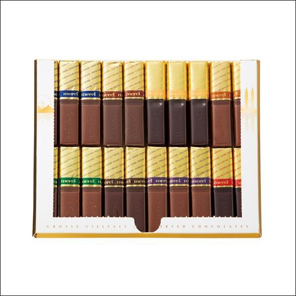 【夏季クール便】【世界のおみやげギフト☆ドイツ】メルシー ゴールドチョコレート12箱(69503530)