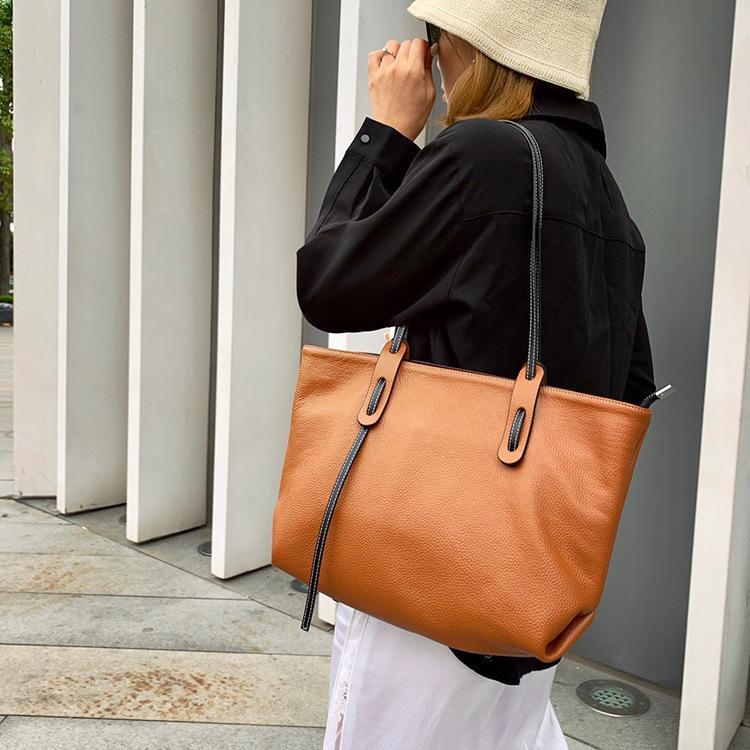 ハンドバッグ ショルダー 2色 ビジネスレザーバッグ 女性 レザーカバン 革鞄 送料無料 婦人 ギフト 母の日プレゼント財布 レディース windstore 10