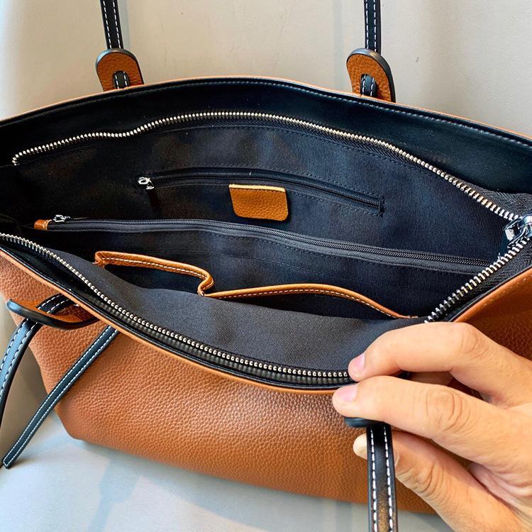 ハンドバッグ ショルダー 2色 ビジネスレザーバッグ 女性 レザーカバン 革鞄 送料無料 婦人 ギフト 母の日プレゼント財布 レディース windstore 13
