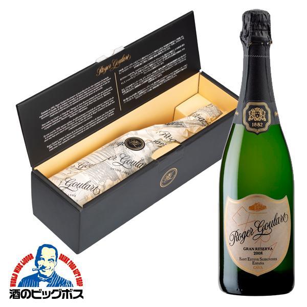 辛口 スパークリングワイン 限定 ロジャーグラート カバ グラン・レゼルバ 2008 白 750ml wine-com