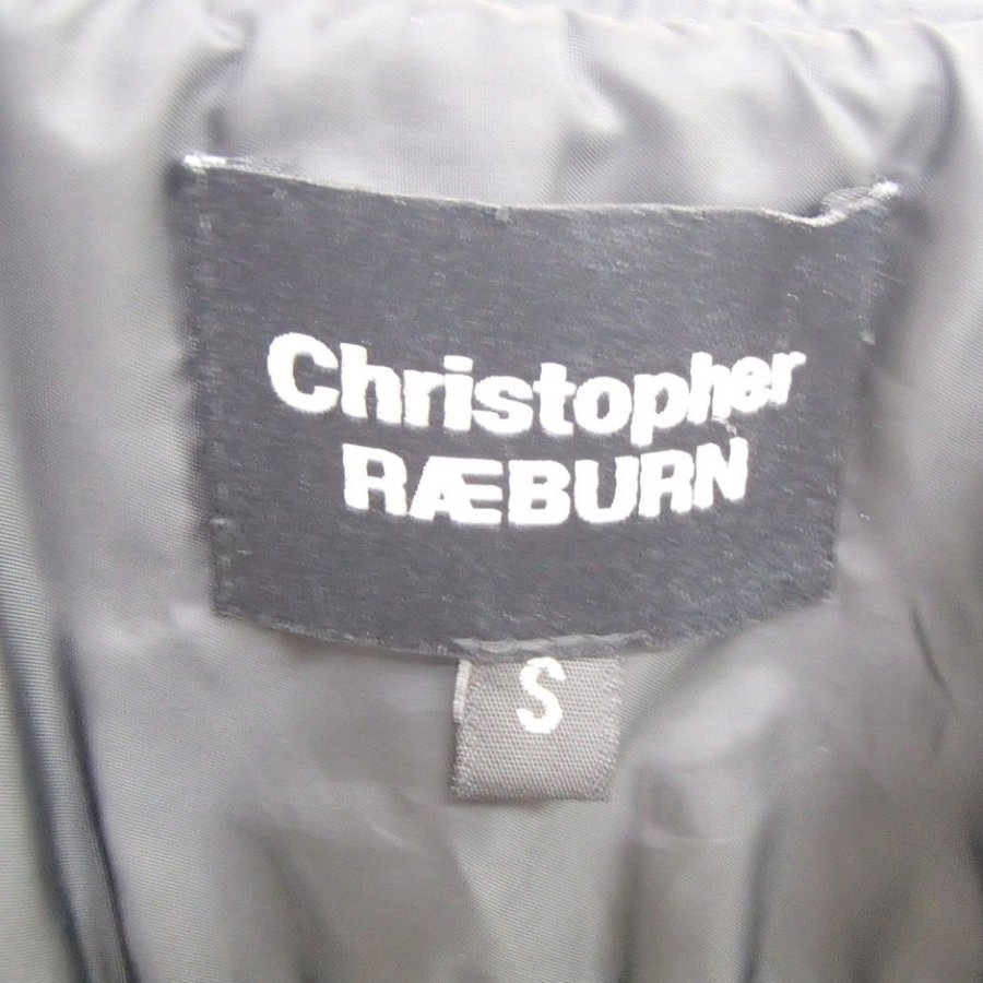 Christopher Raeburnクリストファーレイバーン キルティング 中綿 ジップアップベストS wine-king 05