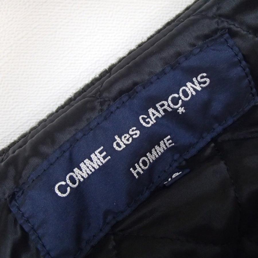 COMMEdesGARCONS HOMME コムデギャルソン オム HP-J004 カウハイドレザー/ナイロン 切替 中綿ブルゾンXS|wine-king|05