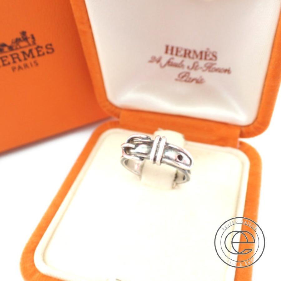 激安本物 HERMESエルメス SV925 サンチュール リング・指輪 シルバー レディース, クサツマチ 51d4d1bc
