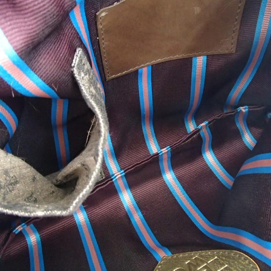 ebagos エバゴス LOVE LETTER TO DEAREST,WOW!  紅籐リボン付き ラビットファー/シープレザー 2wayショルダー/クラッチバッグ|wine-king|06