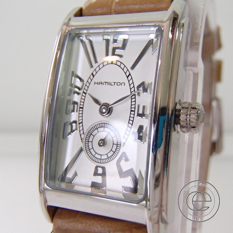 HAMILTONハミルトン H112110 アードモア クオーツ腕時計 wine-king