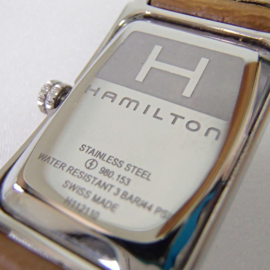 HAMILTONハミルトン H112110 アードモア クオーツ腕時計 wine-king 06