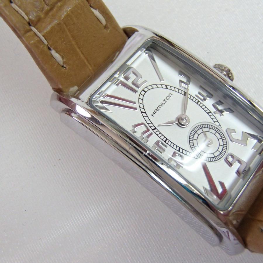 HAMILTONハミルトン H112110 アードモア クオーツ腕時計 wine-king 10