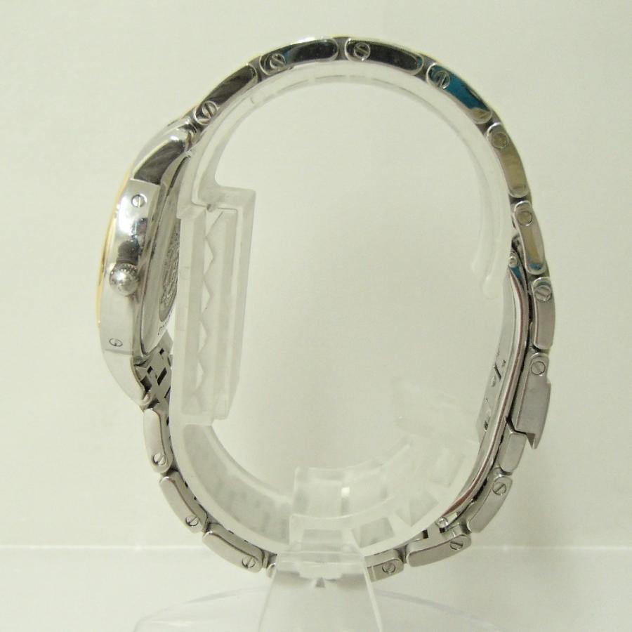 HERMESエルメス CP1.320 クリッパー クオーツ腕時計 シルバー/ゴールド レディース|wine-king|05