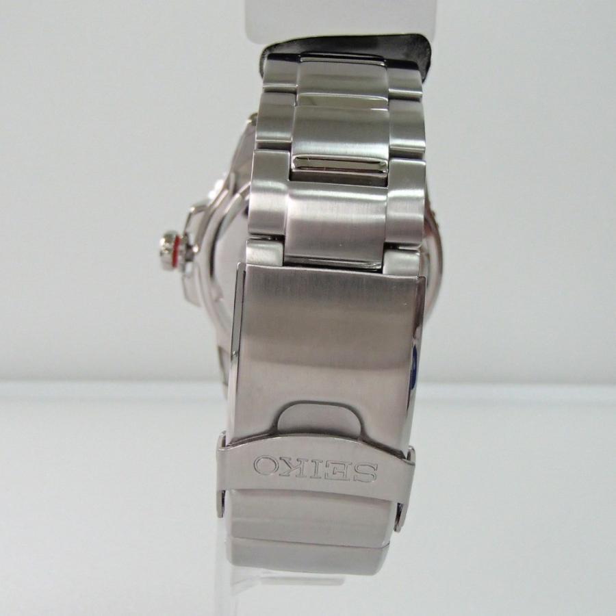 新品同様 SEIKO セイコー PROSPEXプロスペックス SBDJ017 ダイバースキューバ  ソーラー腕時計  シルバー ステンレススチール|wine-king|05
