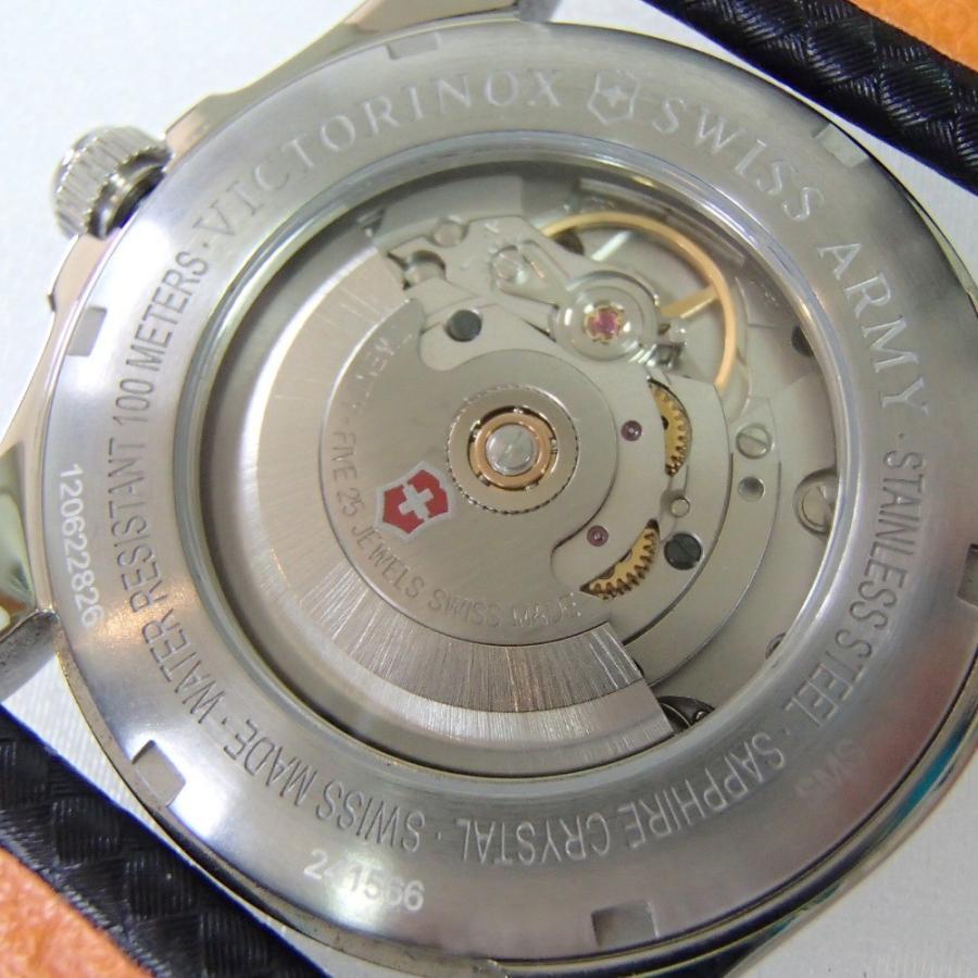 VICTORINOXビクトリノックス 241566 SWISS ARMY Infantryインファントリー 自動巻き腕時計|wine-king|08