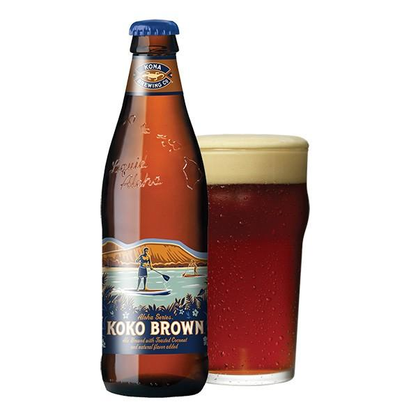 コナビール ココブラウン 瓶355mlx12本 ハワイアンビール|winecellarescargot|02