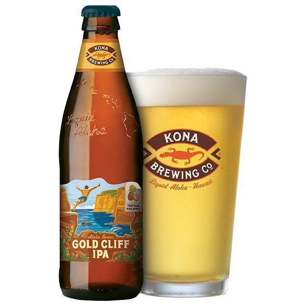 コナビール ゴールドクリフIPA 瓶355mlx24本 ハワイアンビール|winecellarescargot|02