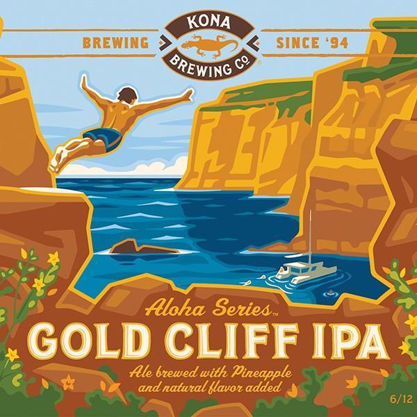 コナビール ゴールドクリフIPA 瓶355mlx6本 ハワイアンビール winecellarescargot 04