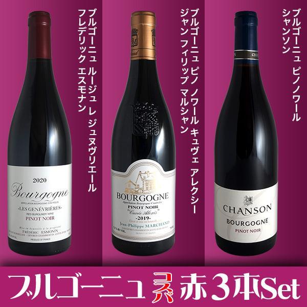 (送料無料)ブルゴーニュ赤ワイン3本セット(A) コスパ抜群の優良生産者を厳選|winecellarescargot|02
