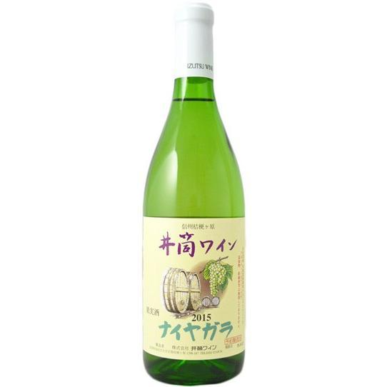 井筒ワイン 無添加 ナイヤガラ 白  甘口  720ml|wineclubsato|03